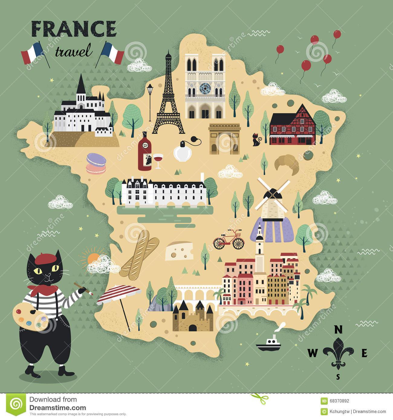 Paris Main Attractions In One Day: Miejsca Do Odwiedzenia Francji Mapy